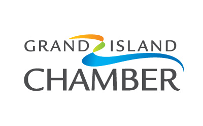 grand island chamber of commerce logo by infuze creative
