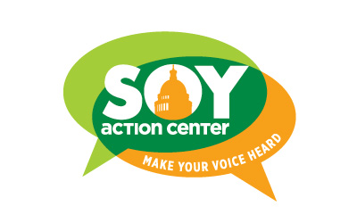 Soy Action Center logo design by infuze creative